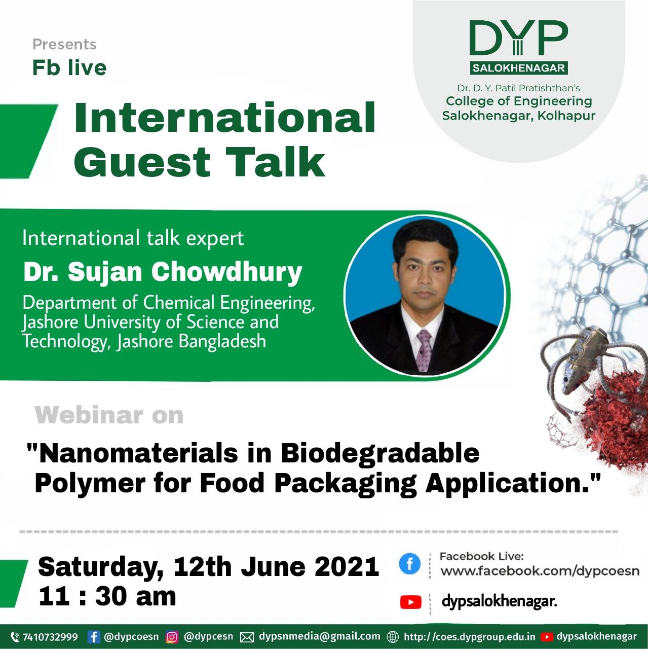 International Guest talk