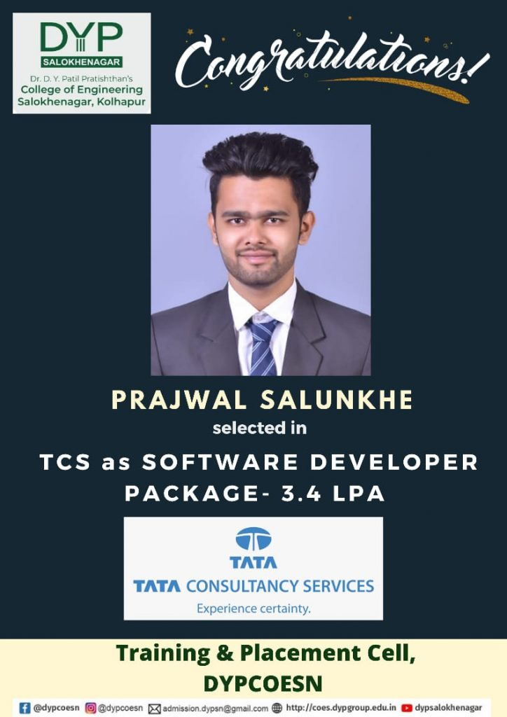 Campus placement in TCS
